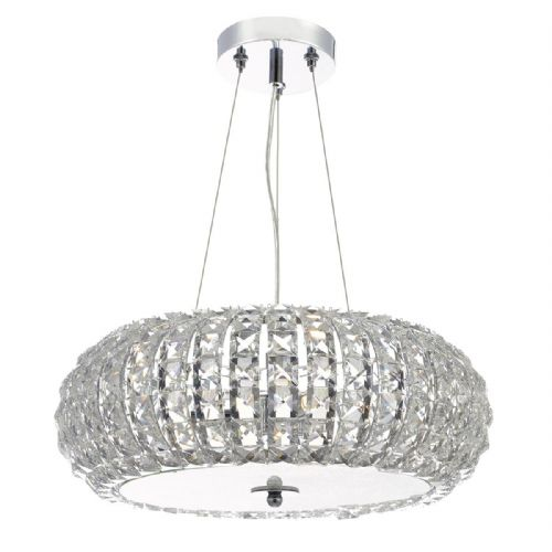 Piazza 3 Light Pendant K9 Crystal Clear (Class 2 Double Insulated) BXPIA0350-17